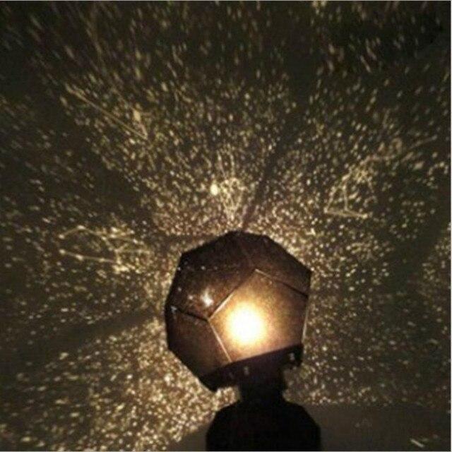 Star Sky Projector Night Light Bulb Lamp Romantic Cosmos Astro Galaxy Home  Decor DIY Stars Night
