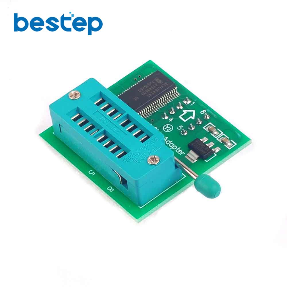1 8V Adapter for Iphone or Motherboard 1 8V SPI Flash SOP8 DIP8 W25 MX25  Use on Programmers TL866CS TL866A EZP2010 EZP2013 CH341