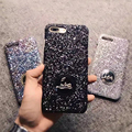 For iPhone iPhone 6 6S 7 Plus Case Luxury Brand French CL Glitter Diamond PC Back Cover For iPhone 7 7 Plus Coque Fundas