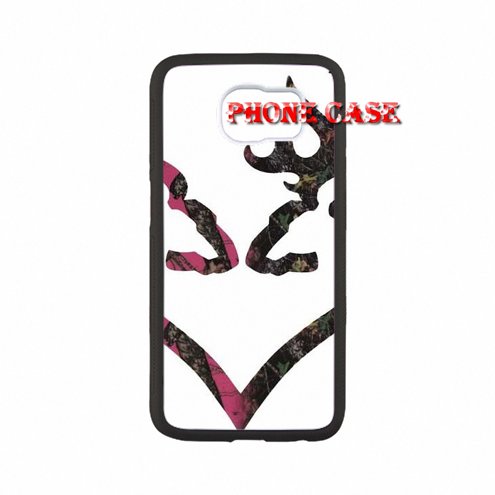 Pink Browning Deer Camo For iPhone SE 5s 6s plus iPhone SE5 case hippie phones with PC material one piece