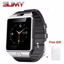 2017 Hot Slimy DZ09 Bluetooth Smart Watch for Android Phone Support SIM/TF Men Women Smartwatch Clock Sport Wristwatch in Stock