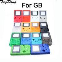 5 conjunto completo habitação escudo para o jogo clássico menino gb dmg console peças completas de substituição habitação concha casos para gb