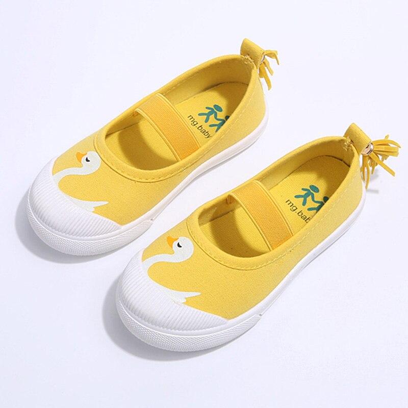 125897e2a الأطفال الأحذية للفتيات 2018 جديد الخريف الكرتون طباعة اطفال بنات أحذية  فاهيون قماش أطفال أحذية رياضية 9163 واط