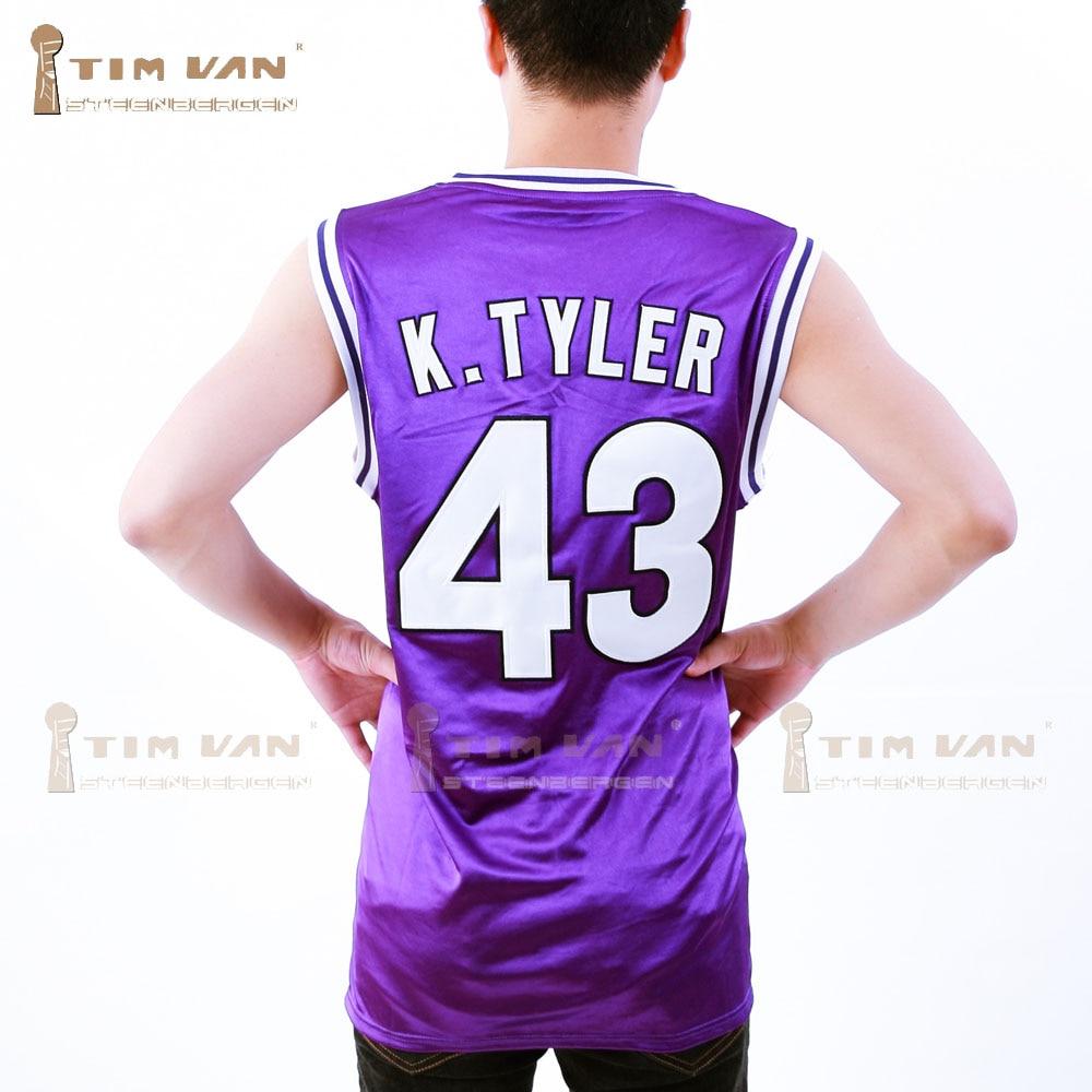 0561ddda17c TIM VAN STEENBERGEB Marlon Wayans Kenny Tyler 43 Huskies Basketball Jersey  The 6th Man Double Stitched All Sewn Purple-in Basketball Jerseys from  Sports ...
