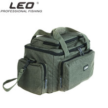 LEO Nylon Carp Fishing Bag Multifunctional Outdoor Tackle Pack Reel Lure