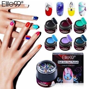 Elite99 5 ml Liner Gel Nagellack Strass dekoration nail art Tränken Weg UV Gel Lack Malerei Muster Gel Lack 30 farben