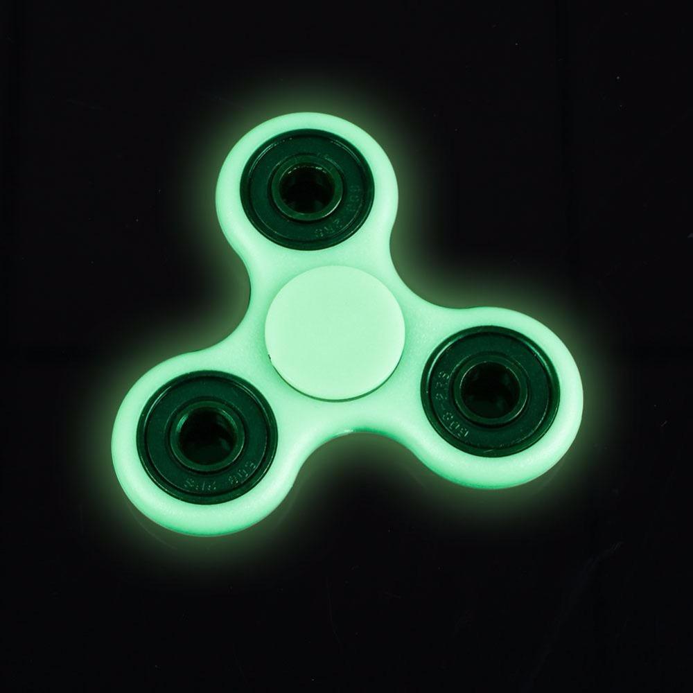 Luminous Fidget Spinner Fluorescence Hand Spinner Gyroscope Children Fidget Toys