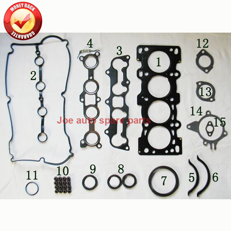 Z5 Z5DE Engine Full gasket SET kit for MAZDA 323 ETUDE FAMILIA V 1.5L 16V 94- 8EB5-10-271 8ABE-02-310 0372-4903 430143P 707.110Z5 Z5DE Engine Full gasket SET kit for MAZDA 323 ETUDE FAMILIA V 1.5L 16V 94- 8EB5-10-271 8ABE-02-310 0372-4903 430143P 707.110