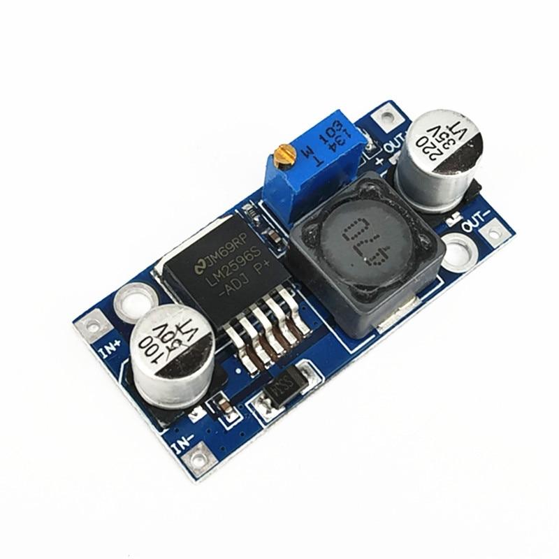 10pcs/lot LM2596 voltage regulator DC-DC step-down power module 3A adjustable step-down module LM2596S