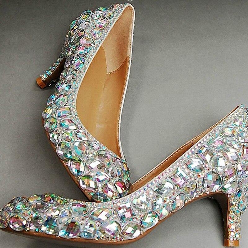 Zapatos Tacon Glitter