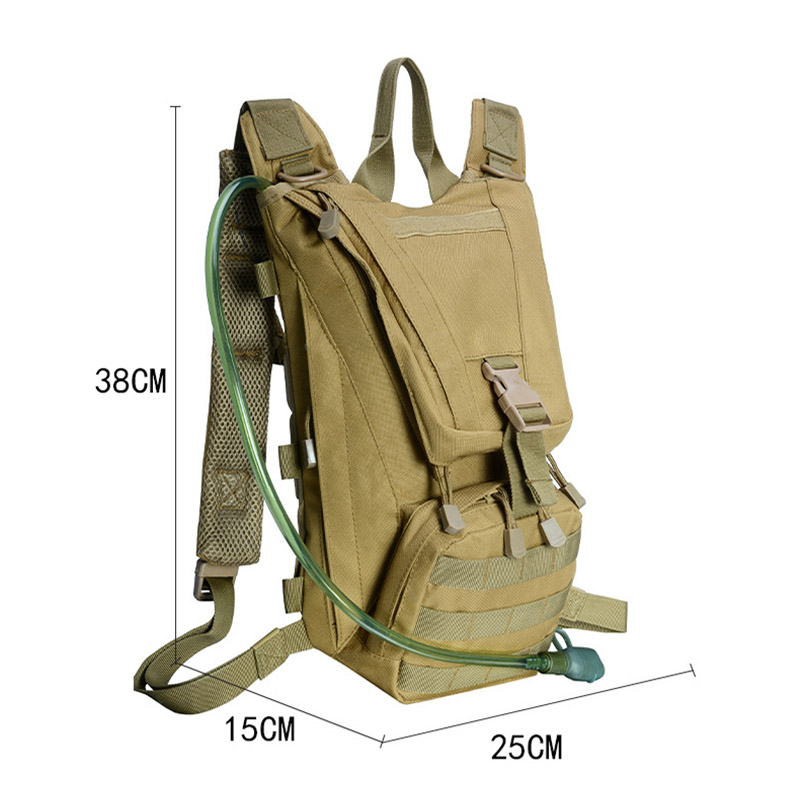 Water Bags 2.5l Water Bag Bladder Hydration Backpack Outdoor Camping Molle Military Tactical Knapsack Cycling Hiking Climbing Camping & Hiking