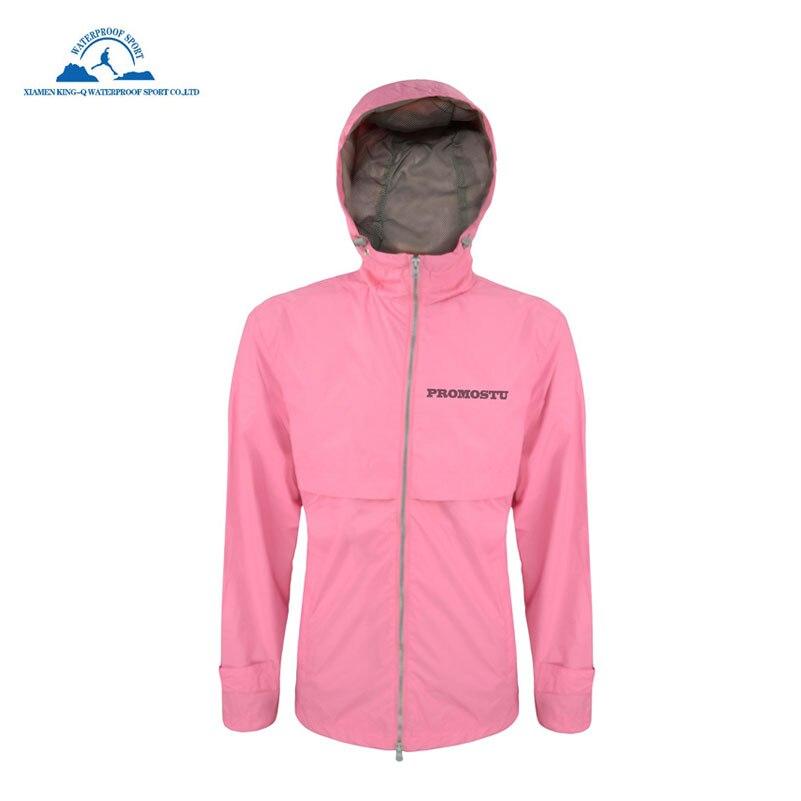 Ultra Lightweight Rain Jacket Saftey Outdoor Waterproof ...