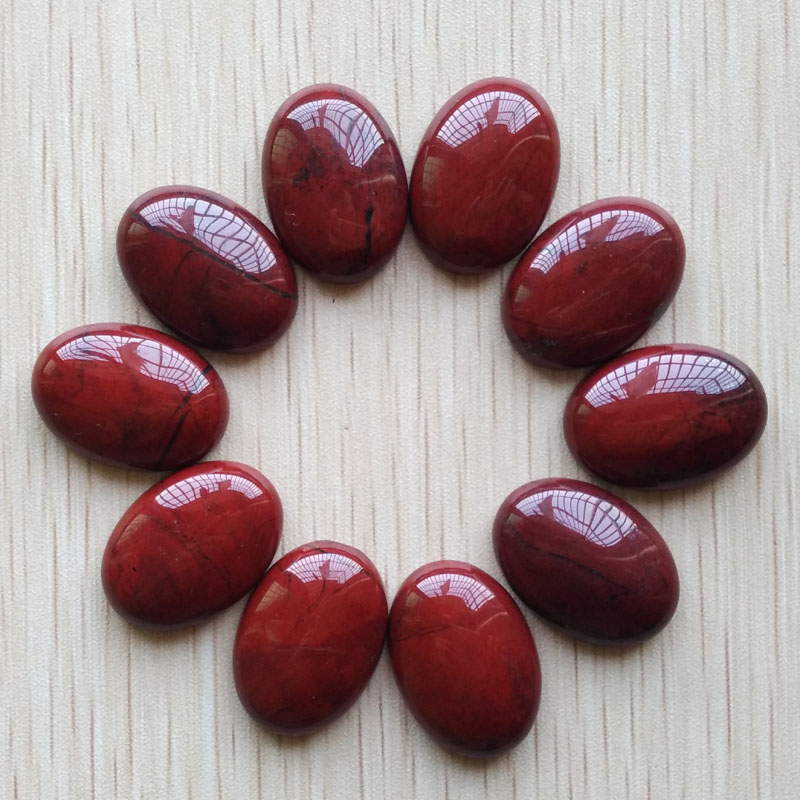 natural Oval CAB CABOCHON mista red onyx