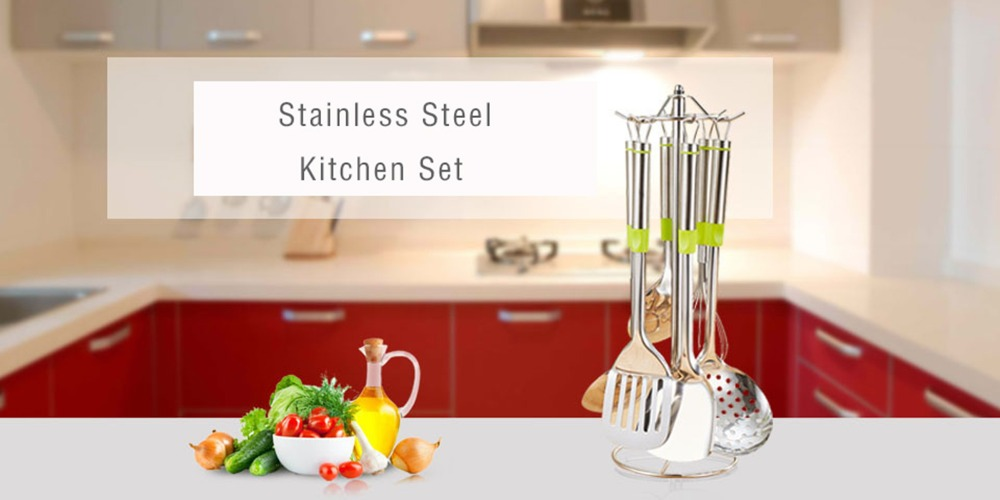 1Stainless Steel Kitchen