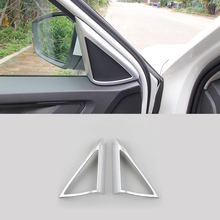 Fit For Skoda Kodiaq 2017 2018 ABS Matte Car Car interior A-pillar Speaker horn ring Cover Trim car styling accessories lapetus front pillar a stereo speaker audio sound frame cover trim fit for volvo xc40 2018 2019 2020 abs accessories interior
