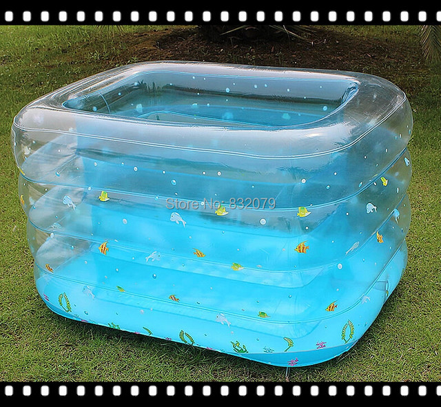 Free Shipping PVC Baby Swimming Inflatable Mini Pool For Kids Child