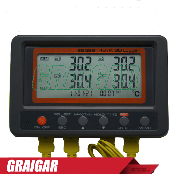 Multiple Channel Temperature Data Logger Voltage : Aliexpress buy multi channel digital thermometer