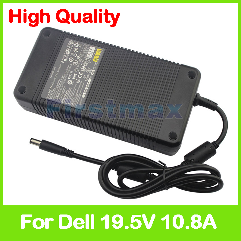 19.5V 10.8A laptop AC adapter charger for Dell Precision M6400 M6500 Mobile Workstation 330-4128 330-4342 D846D PA-7E DA210PE1-0 19 5v 10 8a laptop ac adapter charger for dell precision m6400 m6500 mobile workstation 330 4128 330 4342 d846d pa 7e da210pe1 0