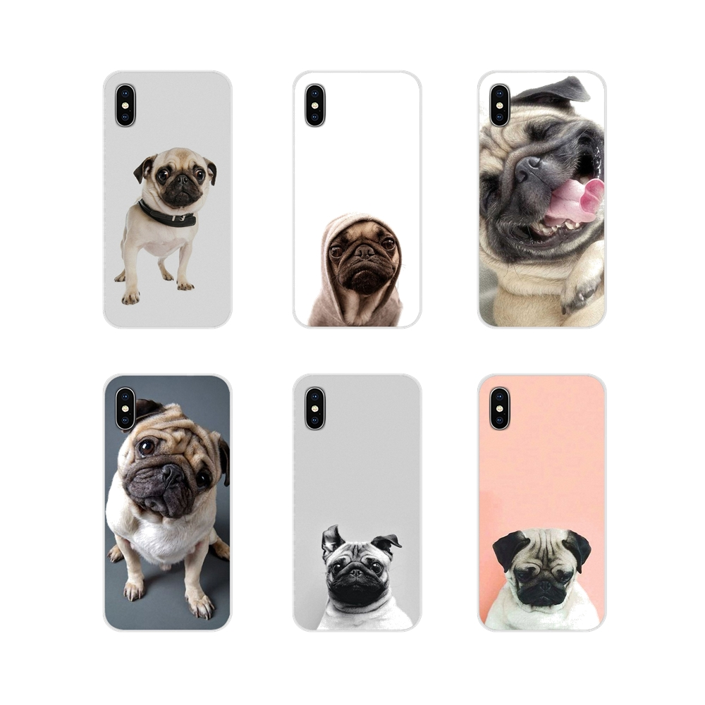 cute funy lovely pug <font><b>dog</b></font> For Oneplus 3T 5T 6T <font><b>Nokia</b></font> 2 <font><b>3</b></font> 5 6 8 9 230 3310 2.1 <font><b>3</b></font>.1 5.1 7 Plus 2017 2018 Silicone Phone <font><b>Case</b></font> Covers image