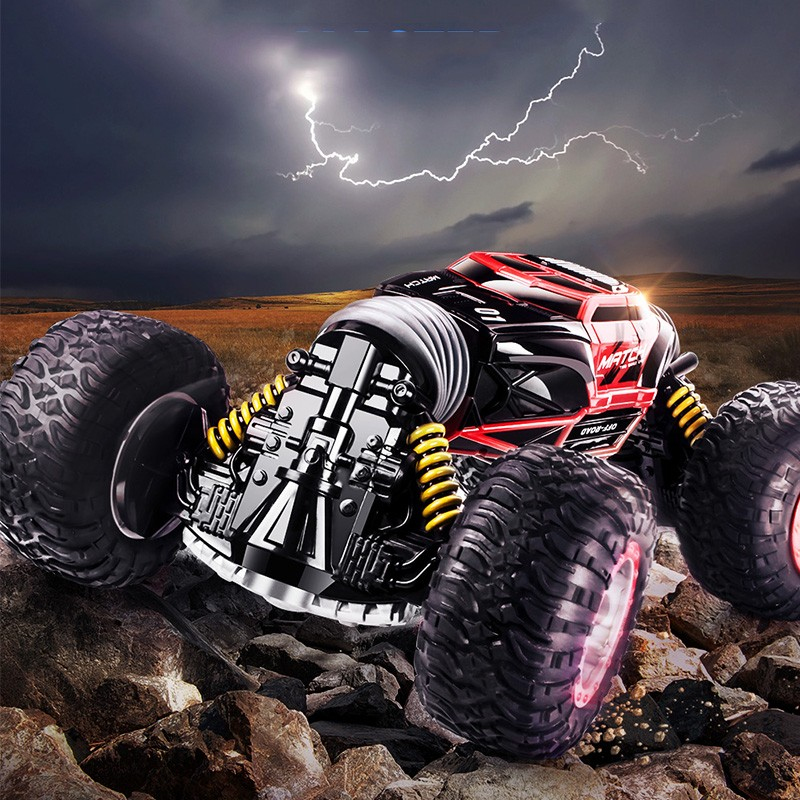 RC Car 1:16 2.4G 4WD Driving Car One Key Transformation Drive RC Toys Remote Control Cars All-terrain Off-Road Vehicle Truck Toy double sided 2 4ghz rc car one key transform all terrain off road vehicle varanid climbing truck remote control toys