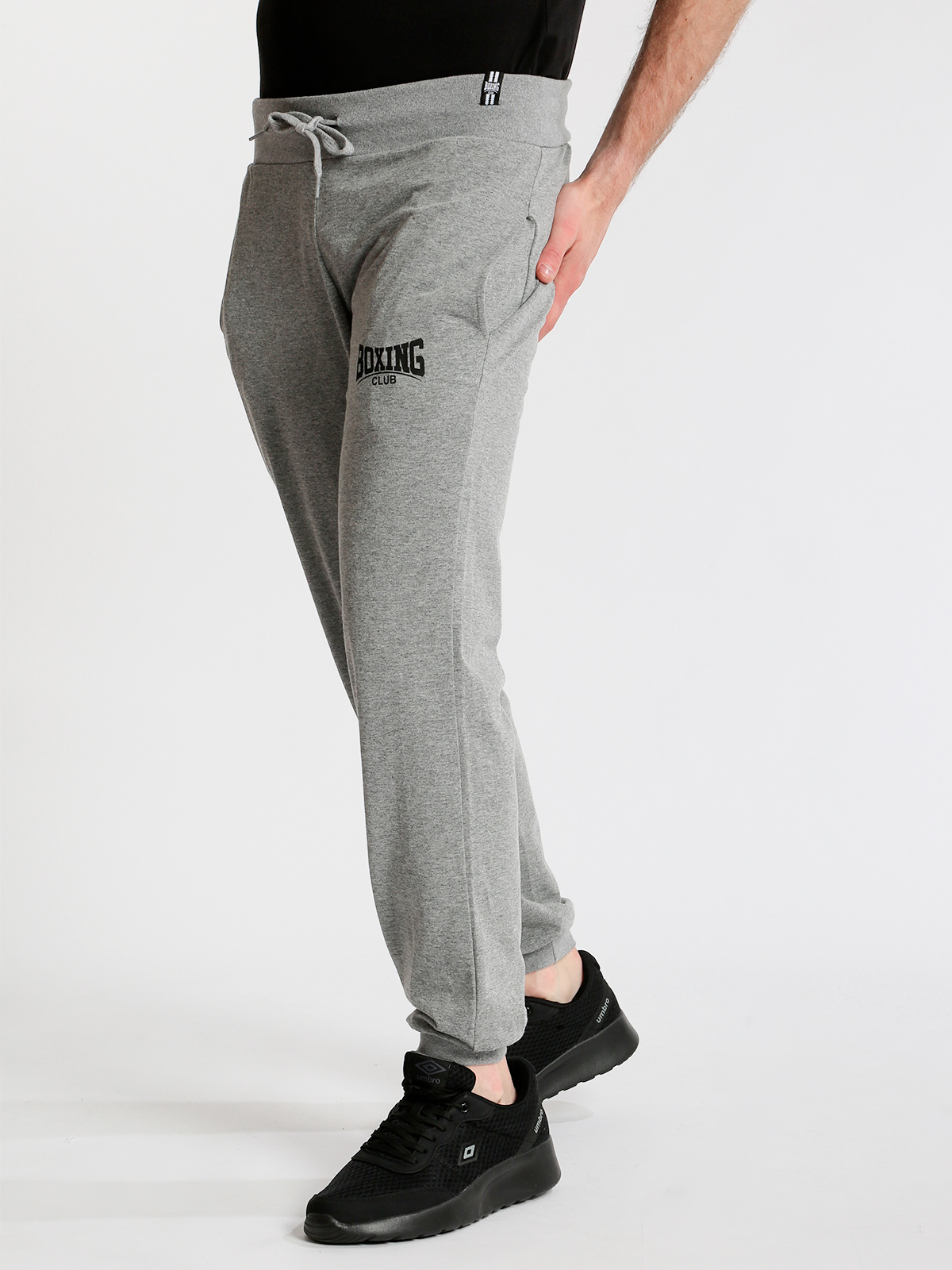 BOXING Sports Pants With Cuffs