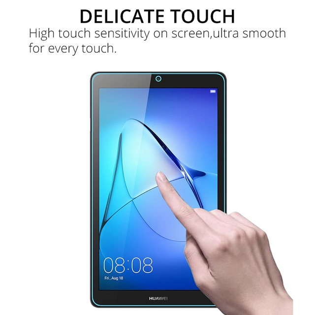 """Tempered Glass Screen Protector for Huawei MediaPad T5 10 T3 9.6 T3 8 8.0 T3 7 3G T3 7.0 WiFi T1 7.0 T1 8.0 T5 8"""" Proective Film 4"""