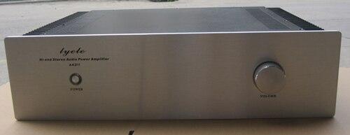 ФОТО DIY Amplifier case 430*115*308mm Q430 External heatsink amplifier chassis / Class A amplifier / AMP Enclosure / case / DIY box