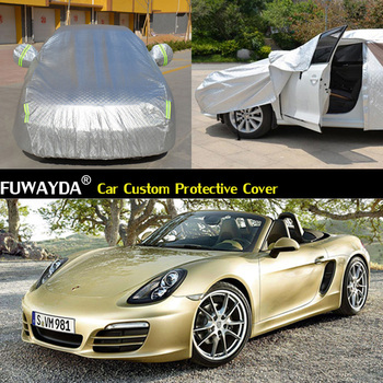 free shipping!!! Car Cover Anti UV Snow Rain Scratch Resistant Automatic Car Covers For Porsche boxster 718