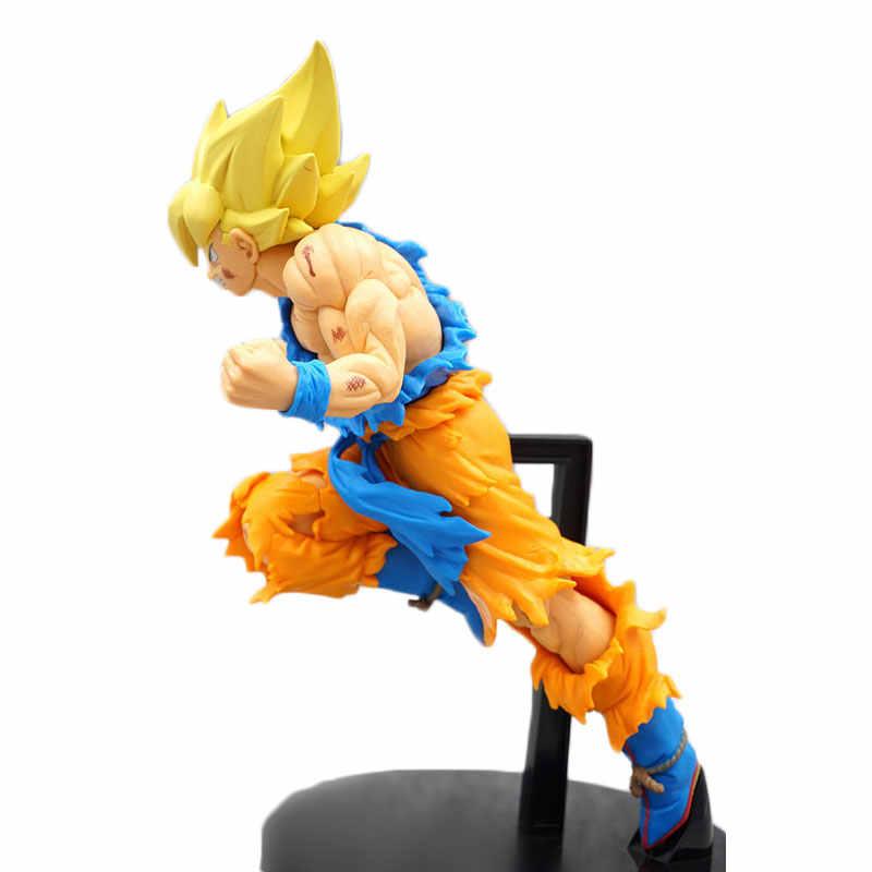 18 см Japonaise Dragon Ball Супер Сон Гоку фигурку Супер Saiyan фигурка Dragon Ball Goku Saiyan DBZ ПВХ SaiyanModel игрушка