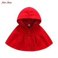 New Winter Fashion Baby Coats Boys Girl Smocks Outerwear Baby Cloak Jumpsuits Children S Clothing Poncho