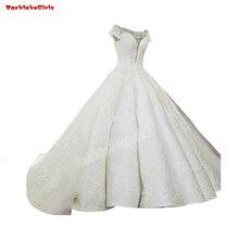 30871 Long Wedding Tail Dress Beading Pattern Bridal Gown