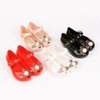 Fashion Design Mini Melissa Mini Earth Girls Anti Skid Sandals Children Jelly Shoes Cute Jelly Sandals