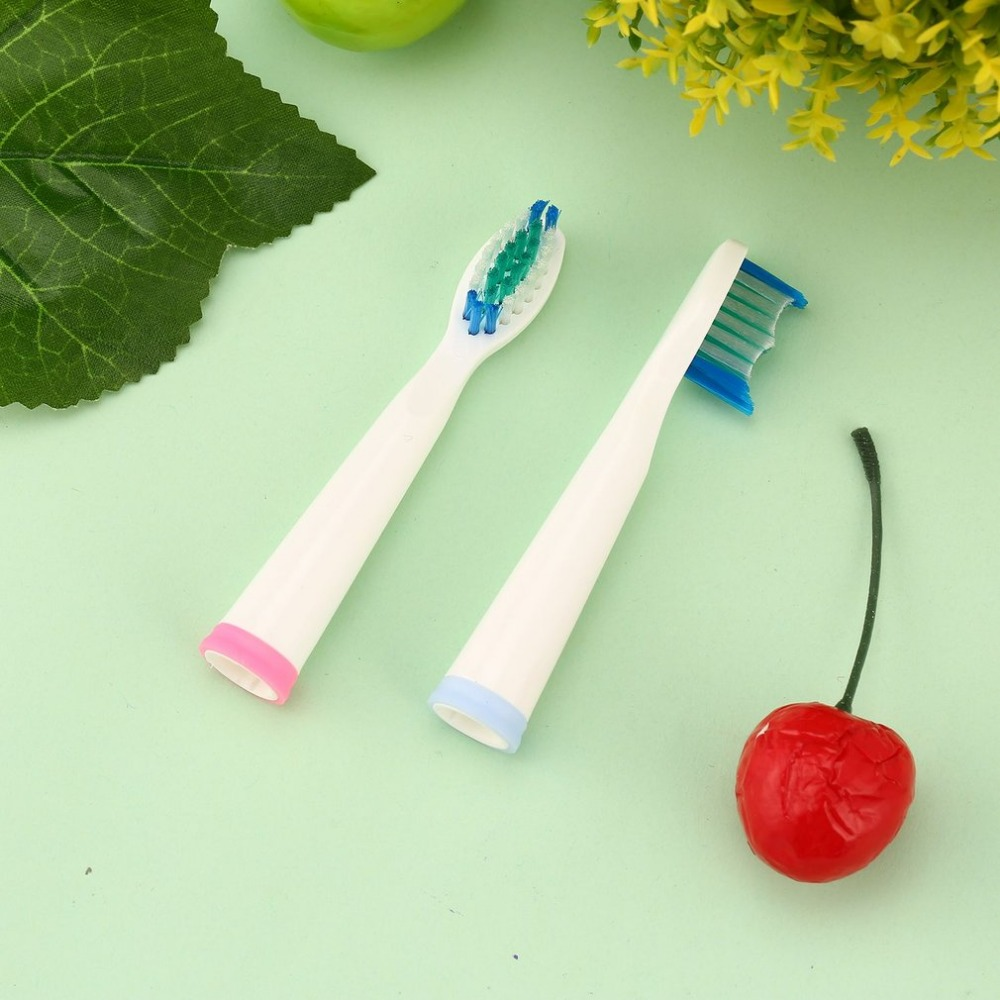 2 Pcs Portable Electric Replacement Brush Heads for Seago SG-899 Electric Toothbrush Deep Clean Teeth Whitening Soft Brush seago sg 612 sonic electric toothbrush with 2 heads deep clean teeth whitening soft brush for adult oral hygiene dental care