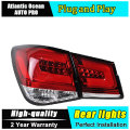 A&T Car Styling for Chevrolet Cruze Taillights Taiwan Sonar Cruze LED Tail Lamp Rear Lamp DRL+Brake+Park+Signal led lights