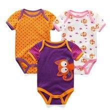 3PCS/LOT Newborn Onesies