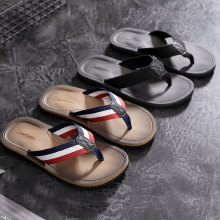 Dwayne 2019 New Summer Men Flip Flops Leisure Time Beach Sandals Non-slide Outdoor Slippers