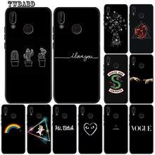 Cactus unicorn love loading Rainbow Phone Case Coque For Huawei P20 Lite Pro P30