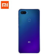 "Original Xiaomi Mi 8 Lite Case PC + TPU material 6.26"" Mi8 lite Smartphone Cover clear back shell case Heavy Duty Protection"
