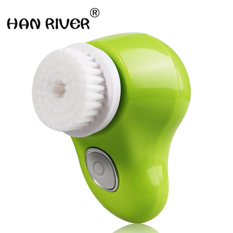 HANRIVER ZLIME Wash Face Facial Pore Cleaner Body Cleaning Skin Beauty Massager Brush SPA Facial Beauty 5 in 1 body face skin care cleaning wash brush spa facial beauty relief massage with latex soft sponge rolling massager