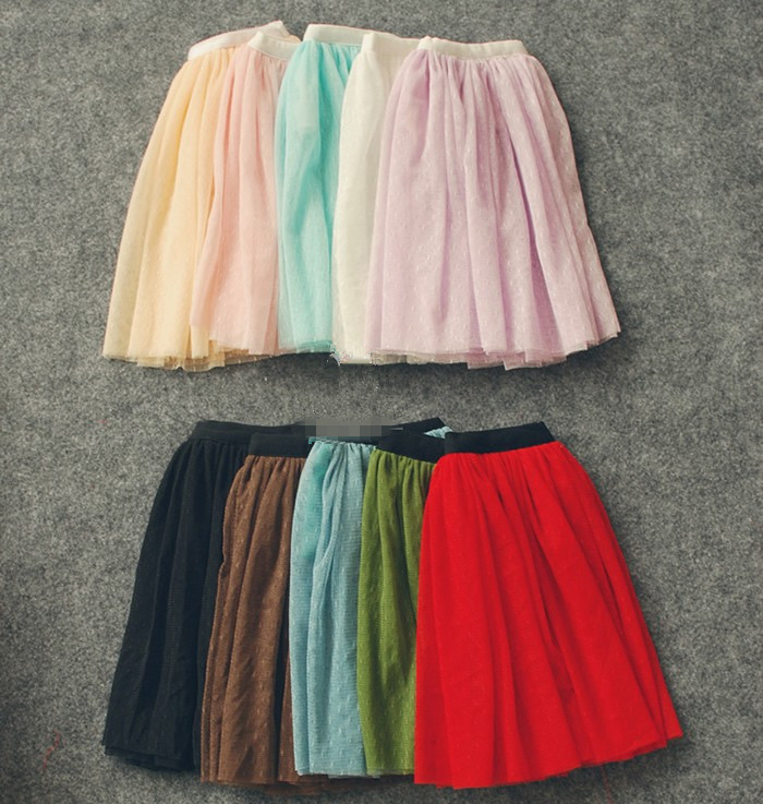 Lace Long Skirt Multicolors for BJD Doll Girl 1/4 MSD,1/3 SD10/13, SD16 LUTS.AS.DZ. Doll Clothes CWB78 2