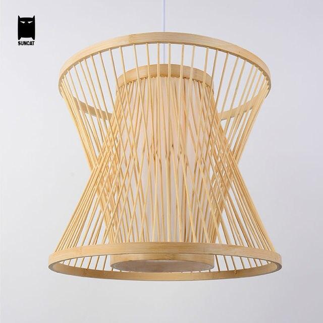 Bambou Cage Oiseaux En Osier Rotin Pendentif Luminaire Rustique Suspendus Lampe Suspension Luminaire Design pour Salle.jpg 640x640 10 Superbe Lustre Bambou Iqt4