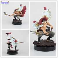Tobyfancy Een Stuk Action Figure WITBAARD Pirates Edward Newgate PVC Onepiece SCultures de TAG team Anime Figuur Speelgoed