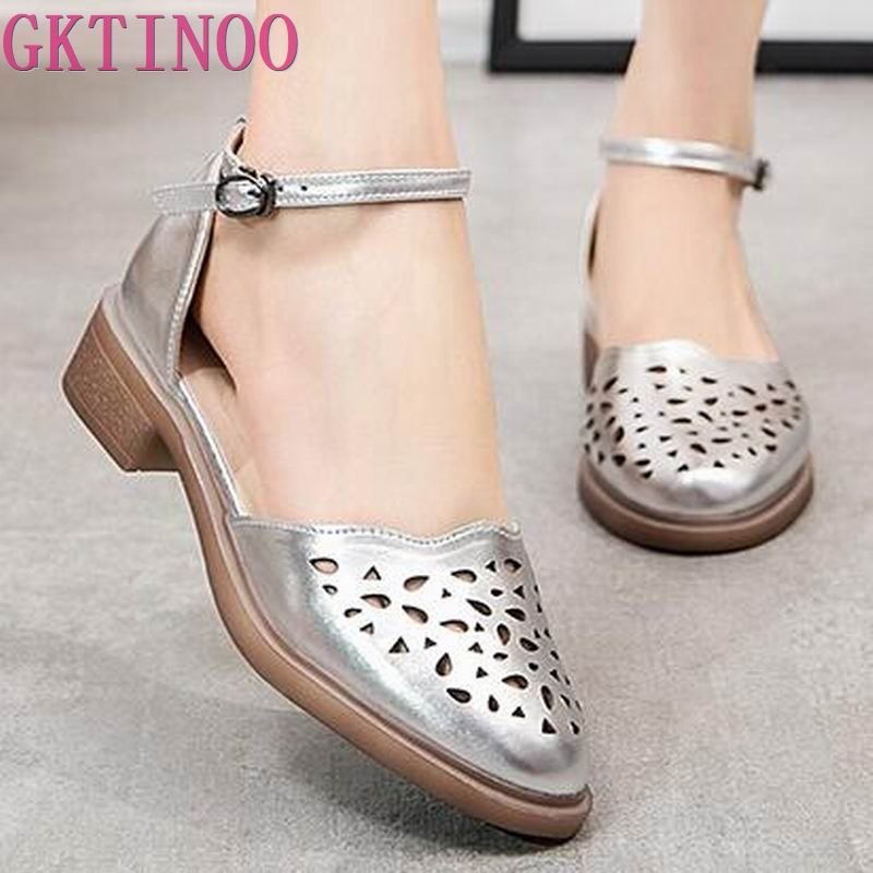 2019 summer sandals female handmade genuine leather women casual comfortable woman shoes sandals women summer shoes size 33-402019 summer sandals female handmade genuine leather women casual comfortable woman shoes sandals women summer shoes size 33-40