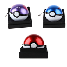 12000mAh Pokeball Power Bank Charger Custom Christmas Gift Game Poke mon Go Plus Powerbank Mobile Poke ball Plush Toy Power Bank