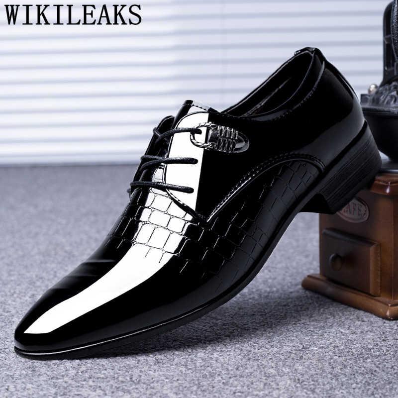 Black Designer Formal Oxford Shoes For