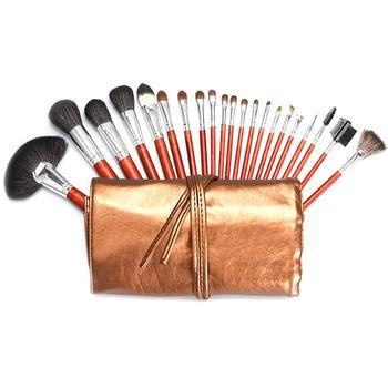 21Pcs Makeup Brushes Set Pincel Maquiagem Powder Eye Kabuki Brush Complete Kit Cosmetics Beauty Tools With Leather Case фото