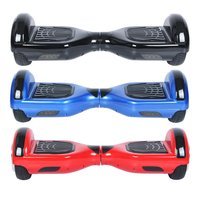 UL Certified Bluetooth Speaker 6 5 Inch Self Balancing Electric Scooter LED Electric Skate Board With