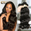 QT Cheap Hair Bundles 3Pc Lot Brazillian Body Wave Hair Vendors Brazilian Virgin Hair Body Wave Wholesale Hair Weave On Sale