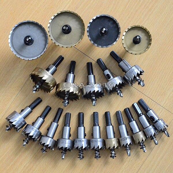 New 1 Pcs 40mm  HSS  Tipped Metal Hole Cutter Saw Drill Bits Heavy Duty
