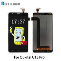 For Oukitel U15 Pro Lcd Screen Quality AAA No Dead Pixel Replacement LCD Display Touch Screen